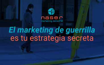 El marketing de guerrilla es tu estrategia secreta